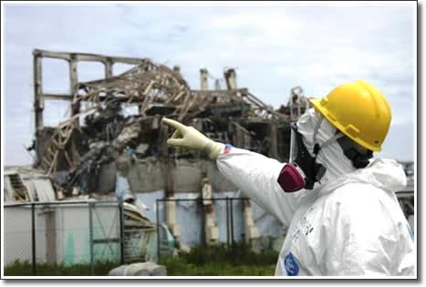 Damaged Fukushima plant