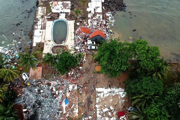 Sunda Strait Tsunami, Indonesia 2018