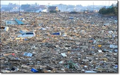 Tsunami | Effects, large destruction of property and loss of life